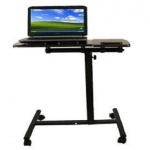 Laptop Adjustable And Computer Desk- Black