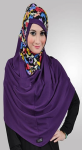 Amelia Hijab - Purple