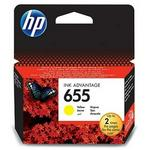 HP 655 Original Ink Cartridge - Cz112ae Yellow