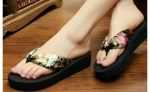 SynGeTters+World+Anna%27s+Bohemian+Floral+Slippers+%7Ceu40