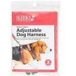 Sleeky Nylon Fabric Adjustable Dog Harness