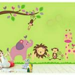 Nutro Tech Zoo Yoo Children's Cartoon Wall Sticker