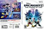 Preowned Nintendi Wii Games Epic Mickey 2 The Power Of Two
