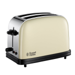 Russell Hobbs 21450 Wide Slot 2-slice Toaster - Cream