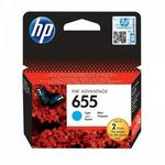 HP 655 Cyan Ink Cartridge Cz110ae#bhl