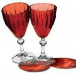 Wine Glass - 6 Piece Red