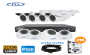 Complete 8 Security Camera Kit + 2TB