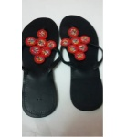 Niikolite Beaded Slippers - 6 Rings Design